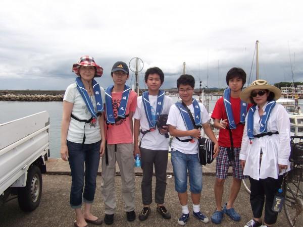 初めての船釣りめっちゃ楽しかった(*´∀`*)1