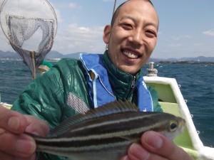 初めての船釣りたのしかった~3