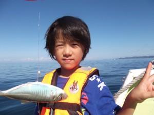 お爺ちゃんと一緒に船釣り楽しかった(*´∀`*)2