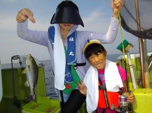 みんなで楽しく釣って食べて!(๑≧౪≦)2