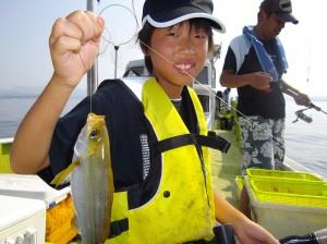 イサギ沢山釣れたよ♪みんなで料理して食べたよ(๑≧౪≦)2
