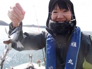 初めての船釣りたのしかった~2