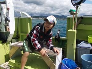 ガシラ釣り~僕船酔いしちゃった3
