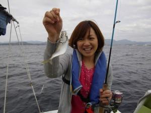 アジ釣り~(*´∀`*)3