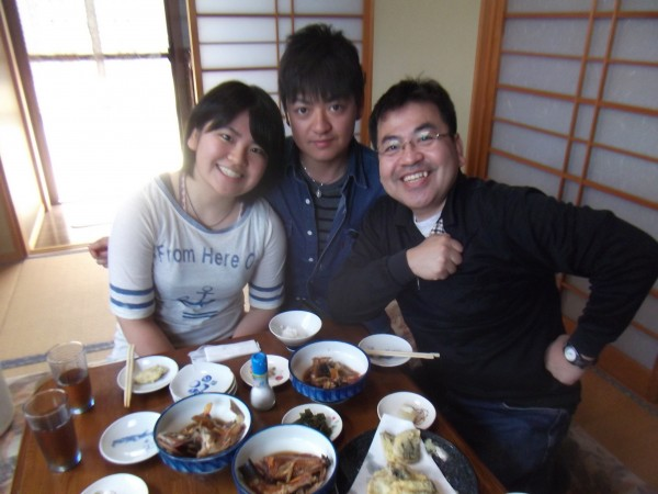 家族で船釣り体験&料理体験1