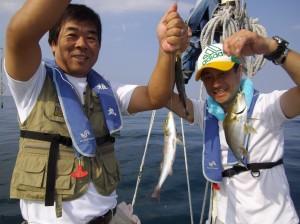 コロダイ・イトヒキアジ・イサギ船釣りめっちゃおもろい(๑≧౪≦)2