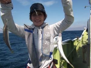 初体験ガシラ・アジの船釣3