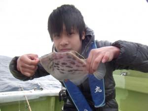 カワハギやマダイが釣れました(*゚▽゚*)2