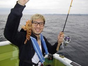 アジ釣り~(*´∀`*)2
