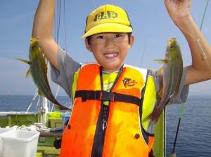 みんなで楽しく釣って食べて!(๑≧౪≦)3