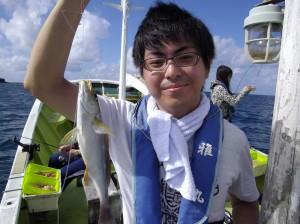 みんなで仲良く船釣り体験♫3