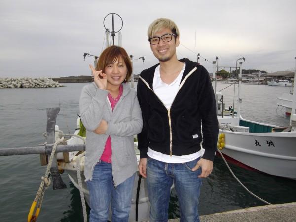 アジ釣り~(*´∀`*)1