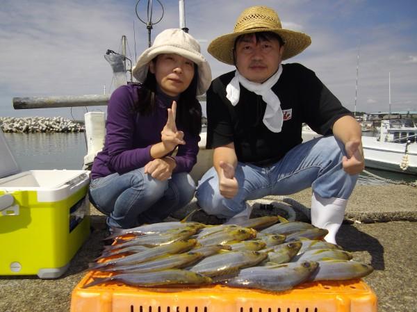 イサギ大漁♫ 良型サイズで大満足(๑≧౪≦)1