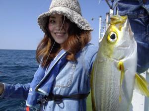 みんな仲良くイサギ釣り~(*´∀`*)2