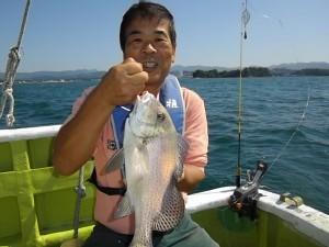 色々な魚が釣れました(*´∀`*)2