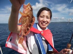 めっちゃ楽しい♫魚釣りって(*´∀`*)3