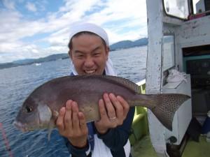 アジやカワハギ大きなコロダイが釣れめっちゃ楽しかった(*´∀`*)2