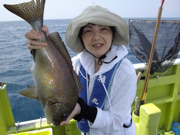 こーんなにおっきな魚が釣れました(๑≧౪≦)1