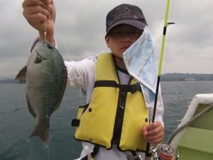 まだまだ釣りがしたかった~ 僕にもグレ・ガシラ釣れたよ!3