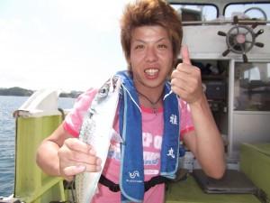 船釣り楽しい♪やばい3