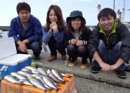 みんな仲良くイサギ釣り~(*´∀`*)
