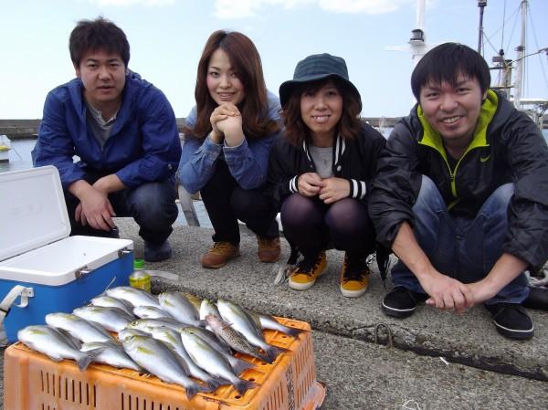 みんな仲良くイサギ釣り~(*´∀`*)1
