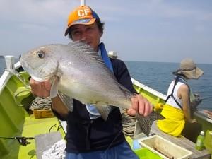 コロダイ・イトヨリ・アジ・イサギと大漁でした(*´∀`*)2
