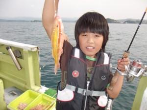 船長の子供と友達を連れて(*´∀`*)3