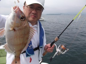 まだまだ釣りがしたかった~ 僕にもグレ・ガシラ釣れたよ!2