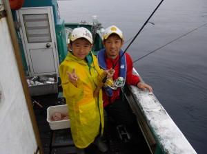 初めての船釣りでしたがとても楽しい体験ができました(*´∀`*)2