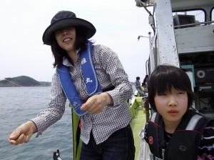家族みんなで船釣りガシラ2