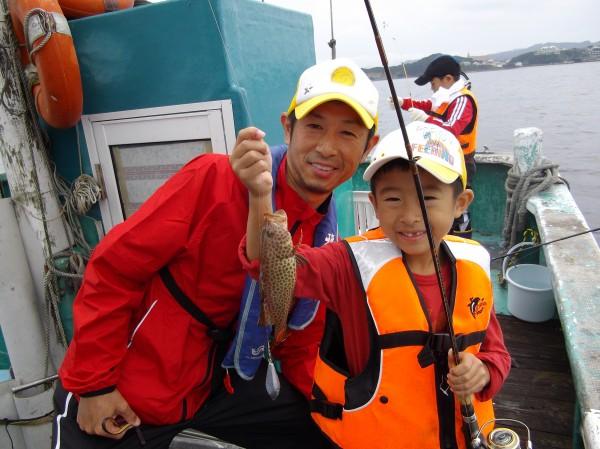 初めての船釣りでしたがとても楽しい体験ができました(*´∀`*)1