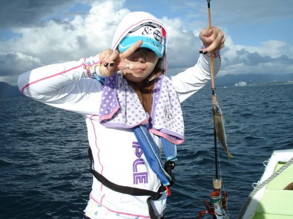 アジ釣るのって簡単!W1